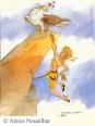 G082_la_grimpeuse_et_l_aigle_de_bonelli_-_copyright
