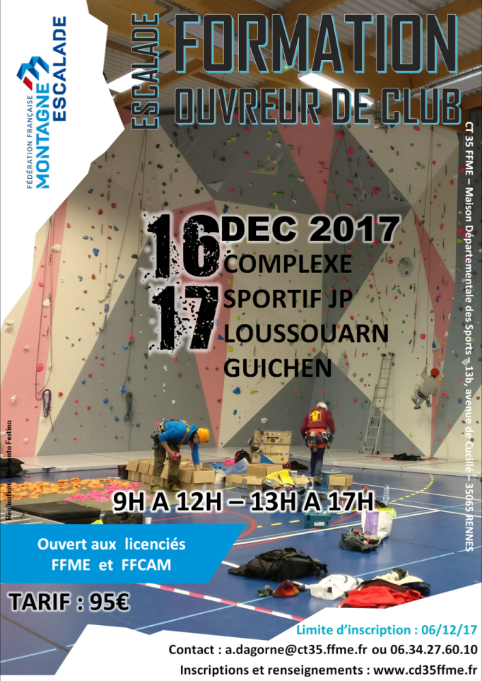 stage ouvreur club